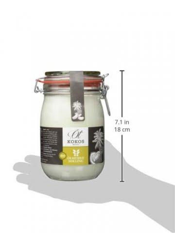 Ölmühle Solling Bio Kokosöl nativ im Bügel-Glas 1000ml - 3